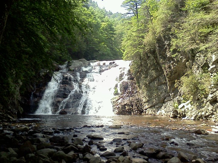 Laurel Falls, Hampton Tn.