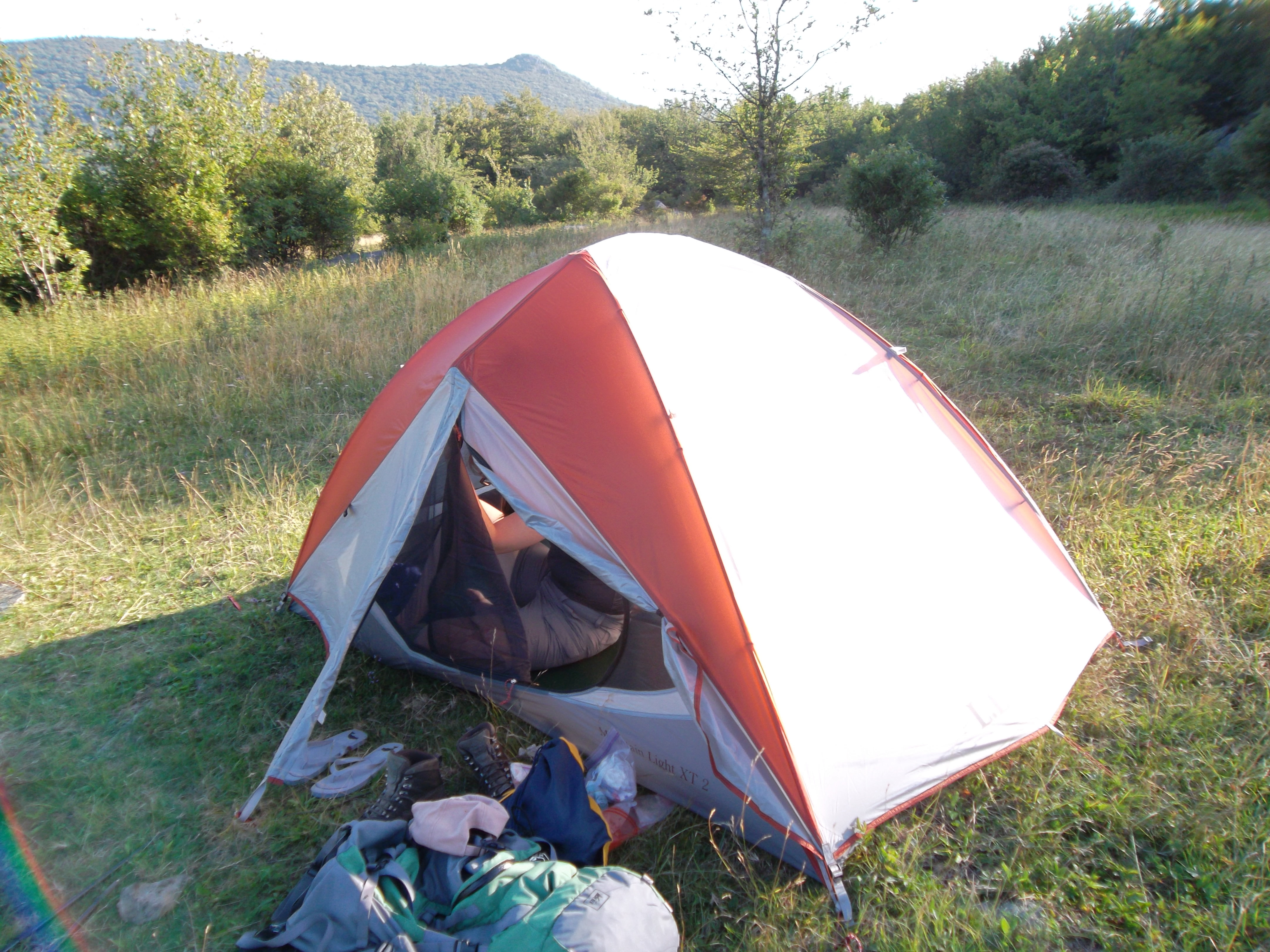 I recommend swapping ... & L.L. Bean Mountain Light XT 2 Tent Review | TreeLineBackpacker