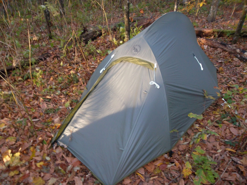 Big Agnes Seedhouse SL1 Tent Review (2012 update) (1/6)