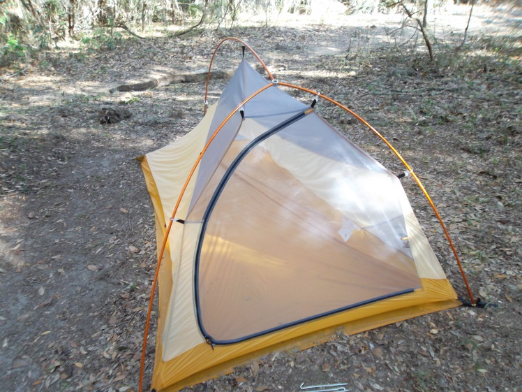 How to pitch tent