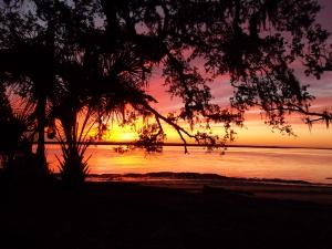 sunset deep