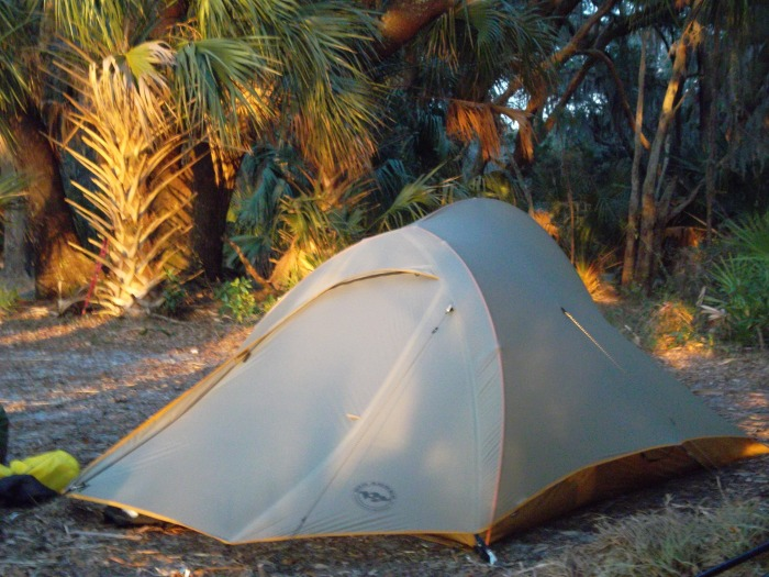 How to pitch a tent