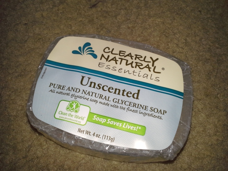 Backpacking Soap