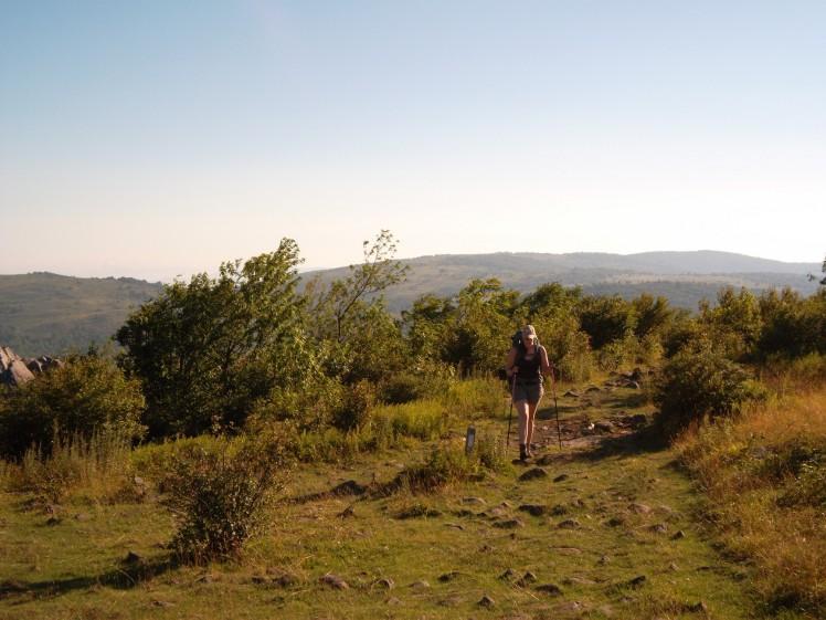 Backpacking Grayson Highlands
