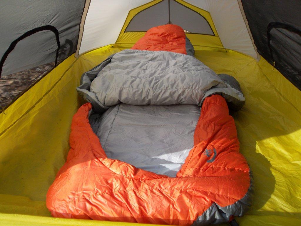 Sierra Designs Backcountry Bed Review Treelinebackpacker