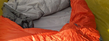 backpacking gear backcountry bed