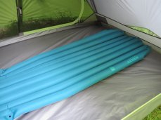 backpacking gear sleeping pad