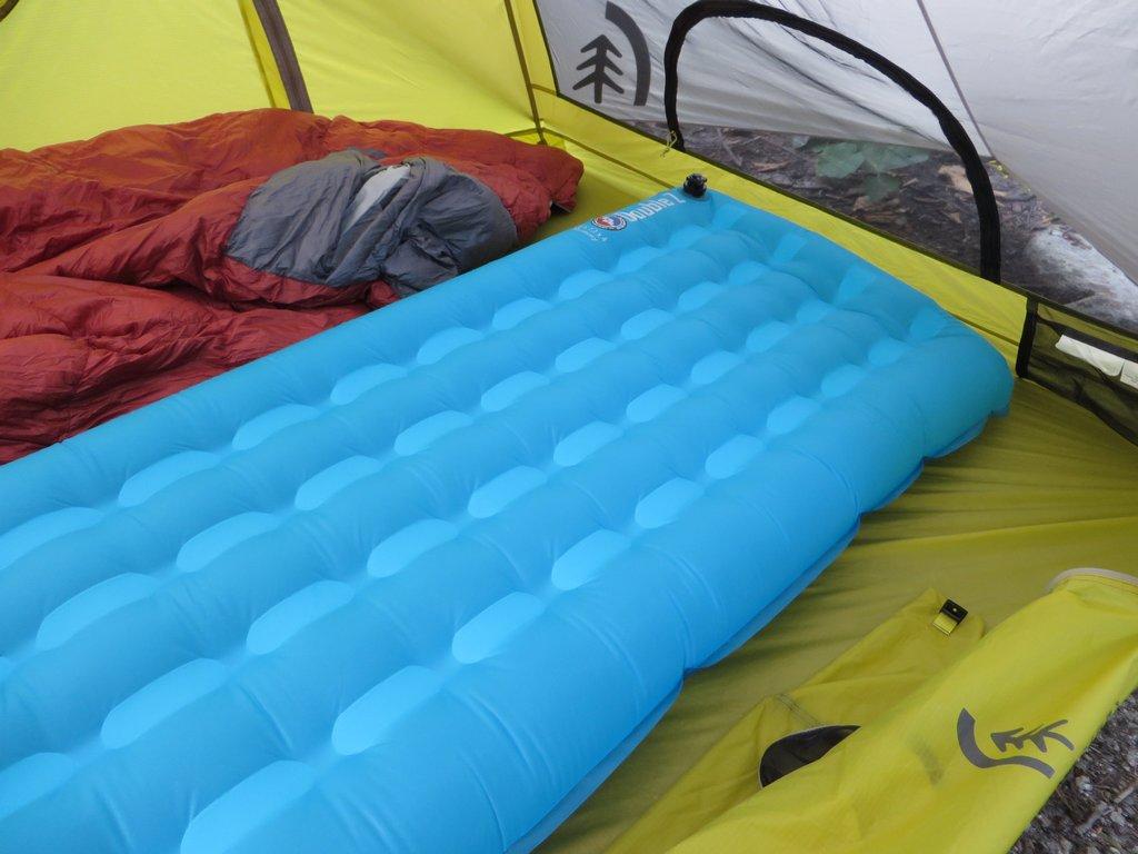 Big Agnes Double Z Sleeping Pad Review Treelinebackpacker