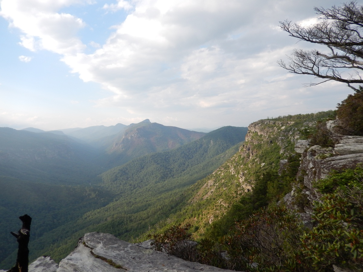 Linville Gorge Wilderness East Rim Guide