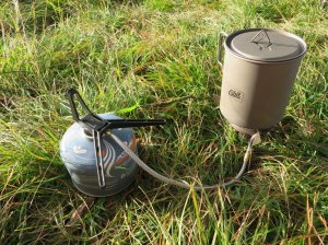 backpacking cook pot