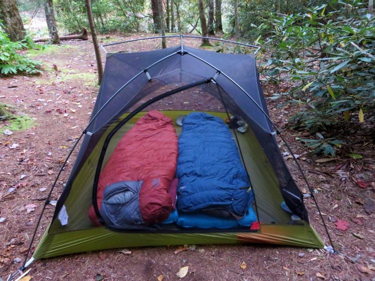 Big AGnes Seedhouse SL3 backpacking tent