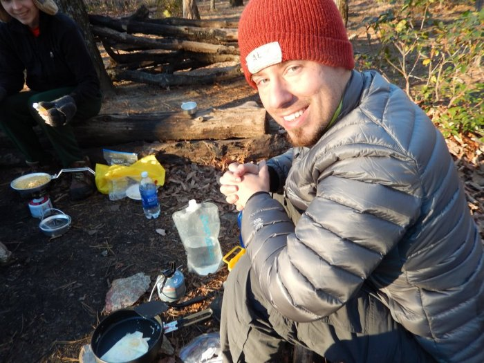 backcountry cooking eggs 2