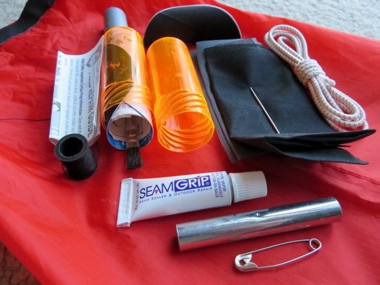 Backpacking Gear Repair Kit
