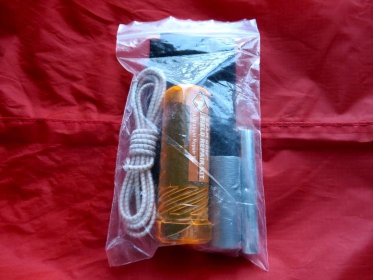 Backpacking Gear Repair Kit