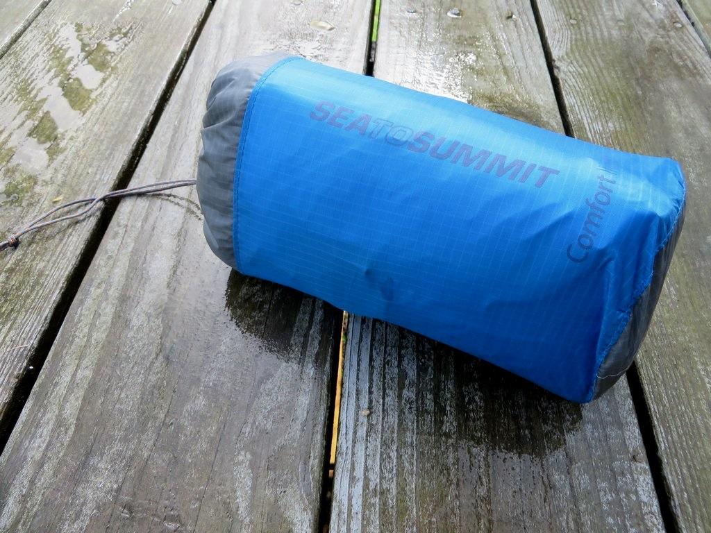 Sea To Summit Comfort Light Mat Review Treelinebackpacker