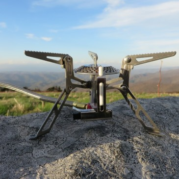 backpacking gear stove review