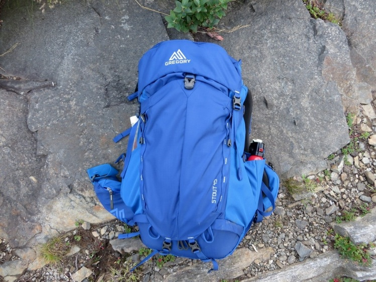 Gregory Stout 45 backpacking backpack