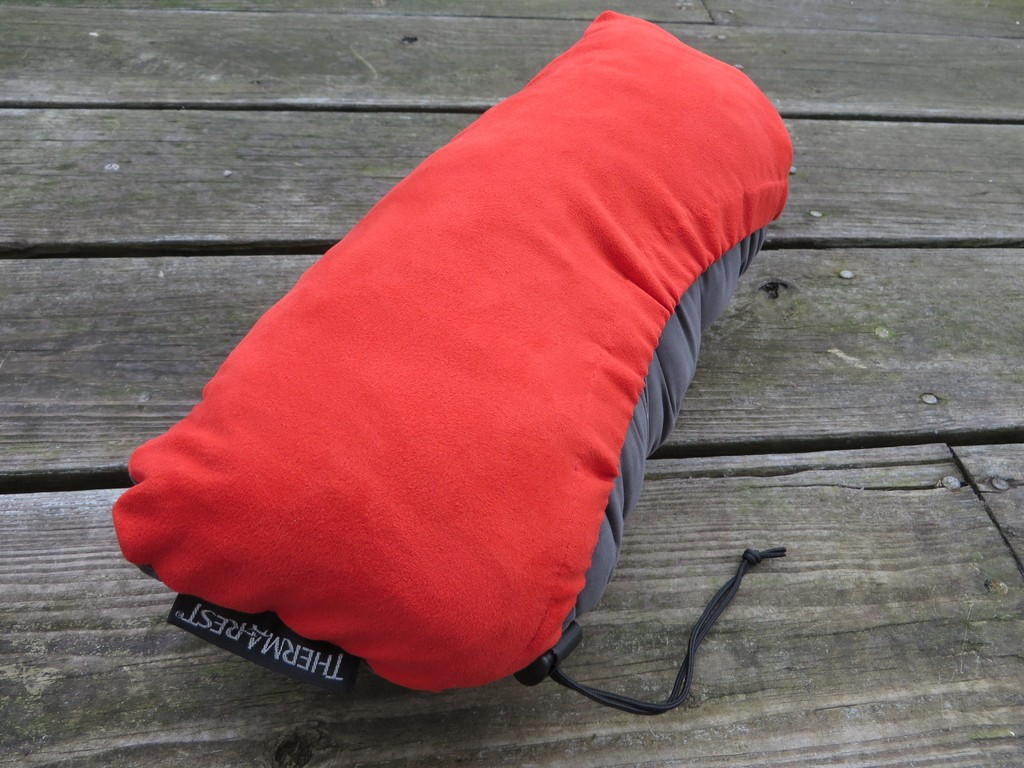 compressible a medium equipment rest thermarest therm bl h pillow w