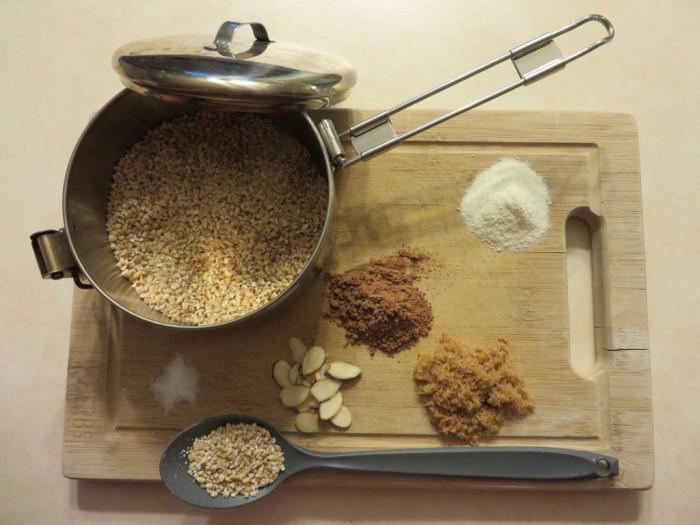Backcountry Oatmeal (midnight oatmeal)