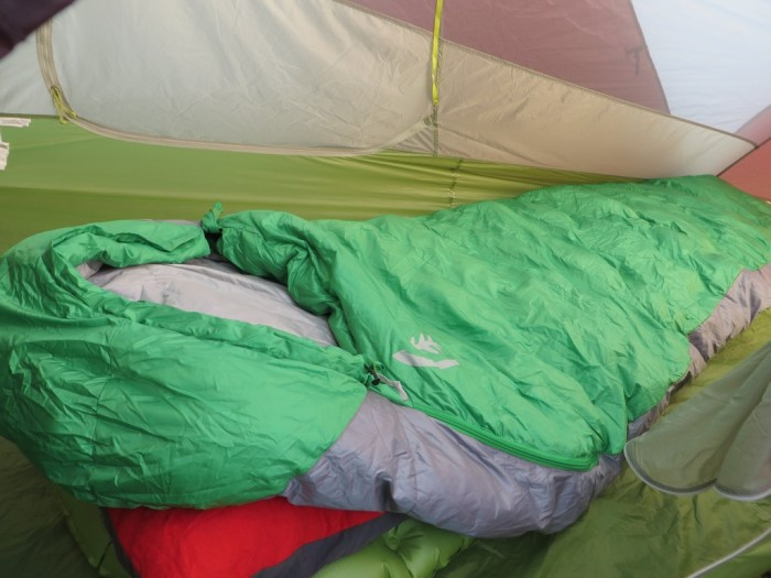 Thermarest Zissou 700 plus 3 season sleeping bag