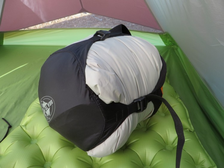 Thermarest Zissou 700 plus 3 season sleeping bag