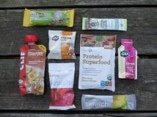 Backpacking snacks