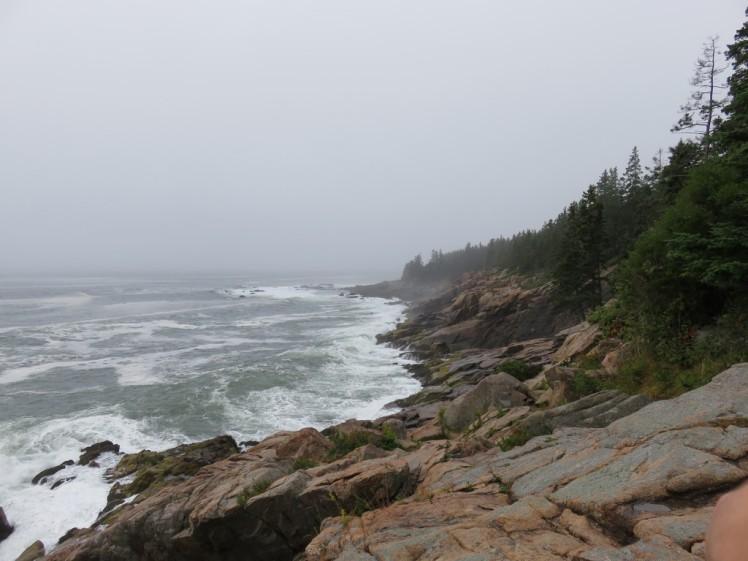 Acadia National Park Cliffs Near Camp