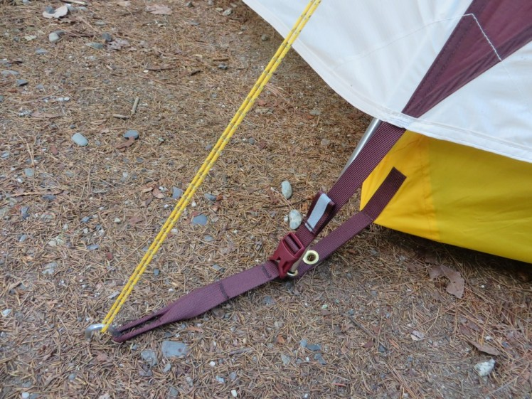 Big Agnes Tensleep Station 4 tent stakes