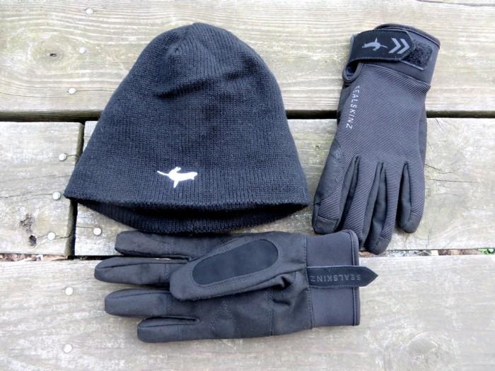 Sealskin gloves