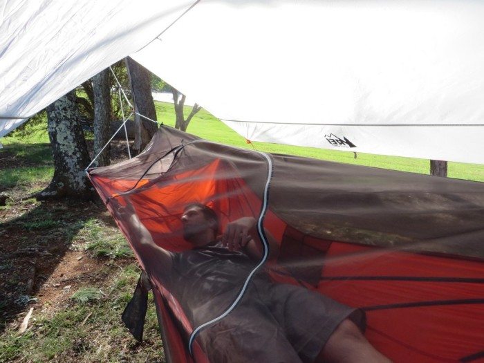 REI Quarter Dome Hanging Tent (IMG 1)