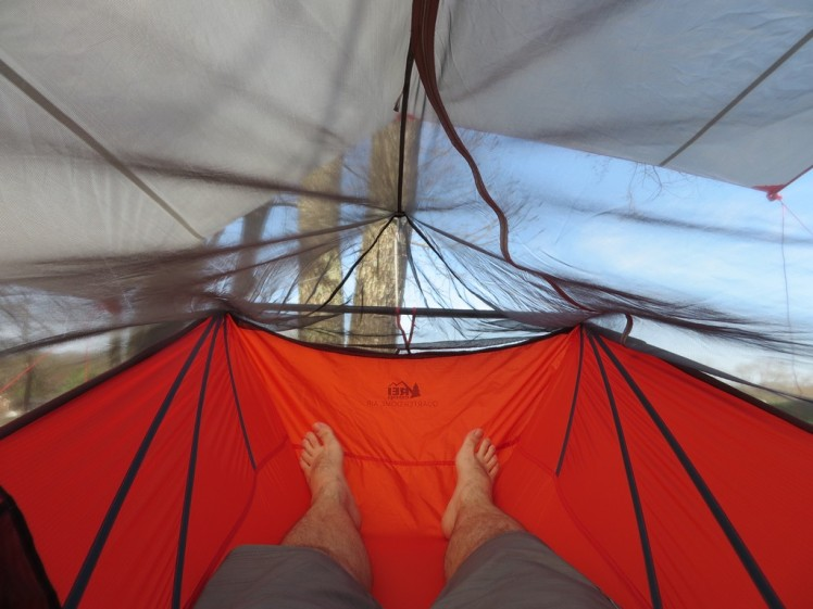 REI Quarter Dome Hanging Tent (IMG 2)