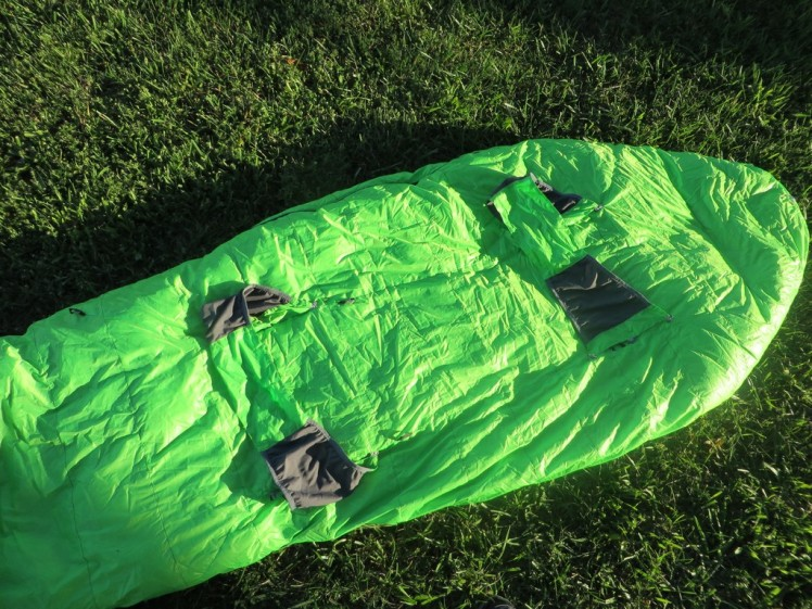 Questar HD 20 Sleeping bag(IMG1)