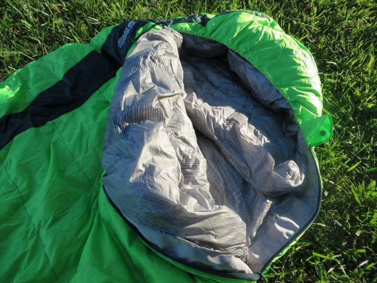 Questar HD 20 Sleeping bag(IMG5)