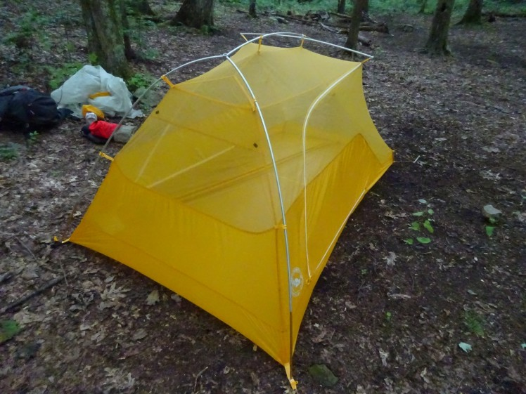 Big Agnes Tigerwall UL2 top off