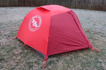 big Agnes Copper Spur HV 2 Expedition back