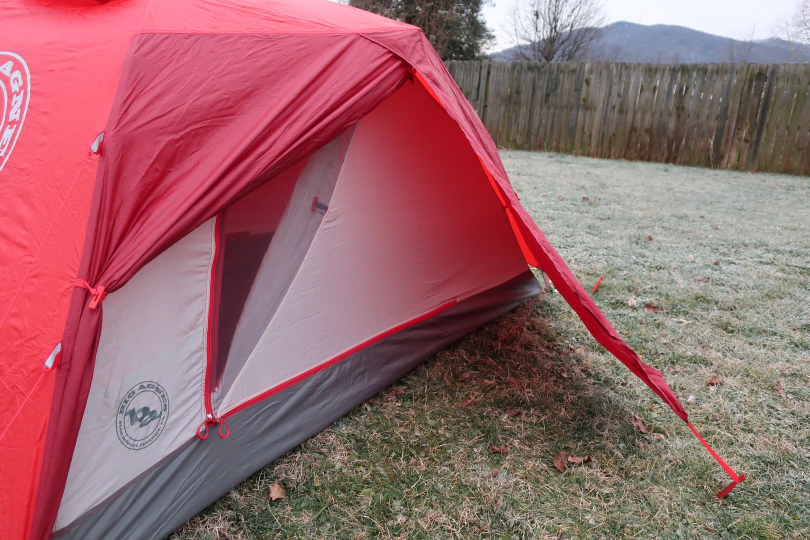 big Agnes Copper Spur HV 2 Expedition vestibule