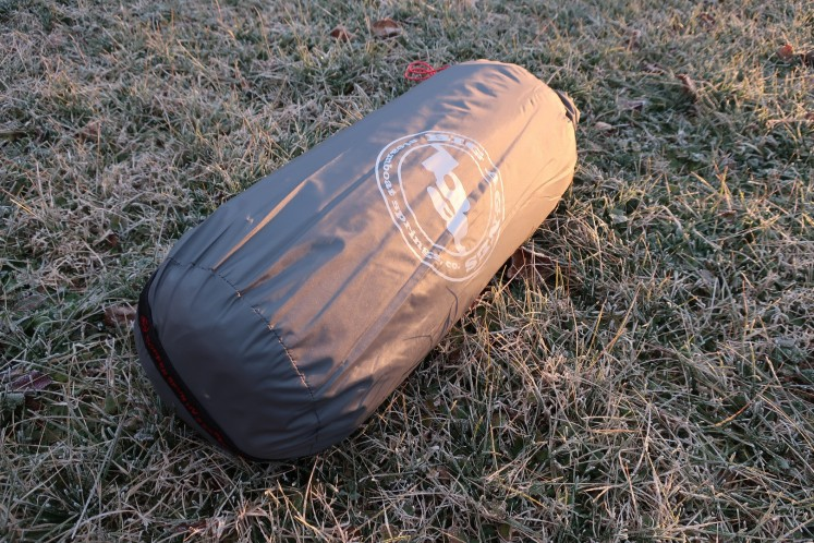big Agnes Copper Spur HV 2 Expedition packed