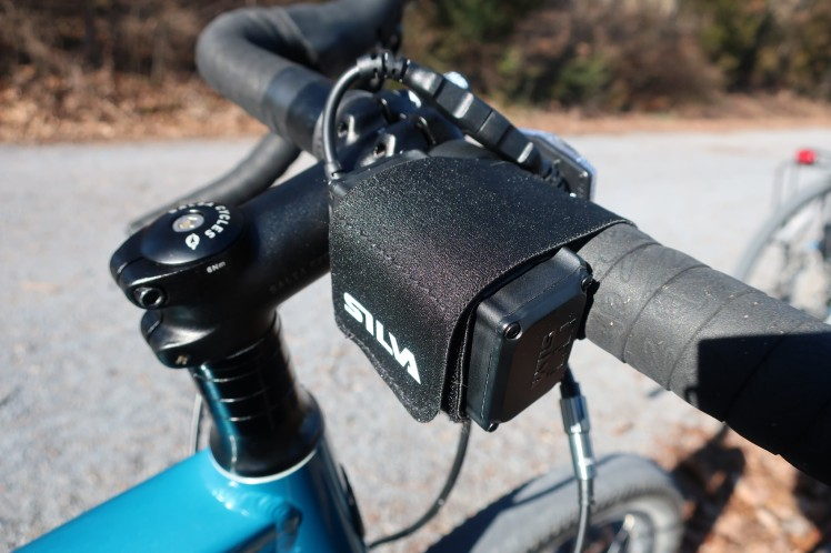 Silva Trail 4XT on handlebar