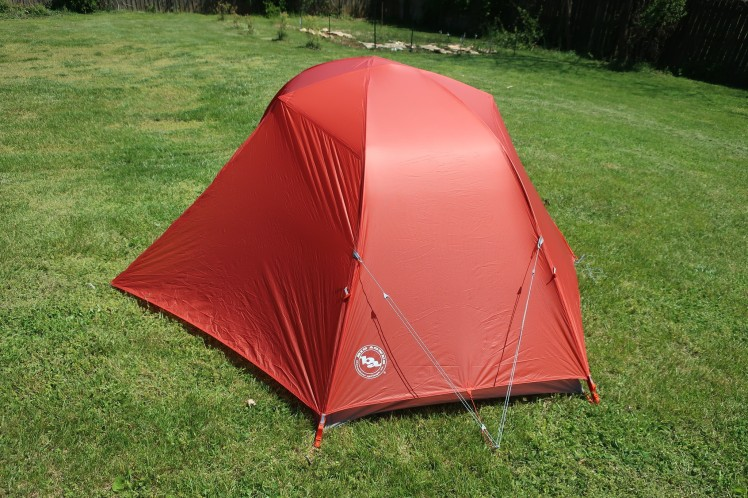 Big Agnes Copper Spur HV UL2 foot.