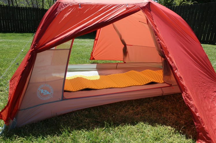 Big Agnes Copper Spur HV UL2 doors open.