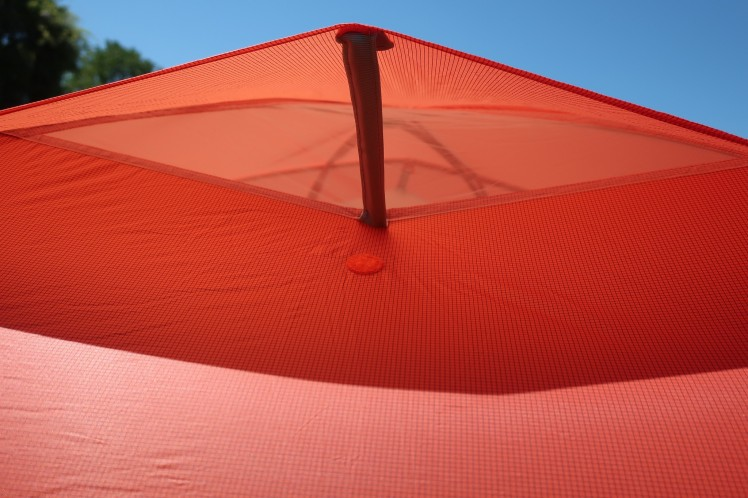 Big Agnes Copper Spur HV UL2 vent