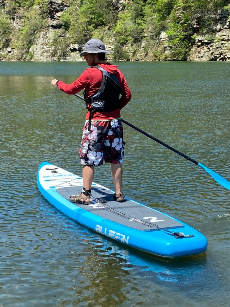 Bluefin Cruise SUP paddling