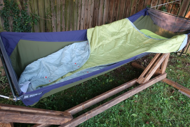 Big Agnes Kings Canjoy UL Quilt bottom