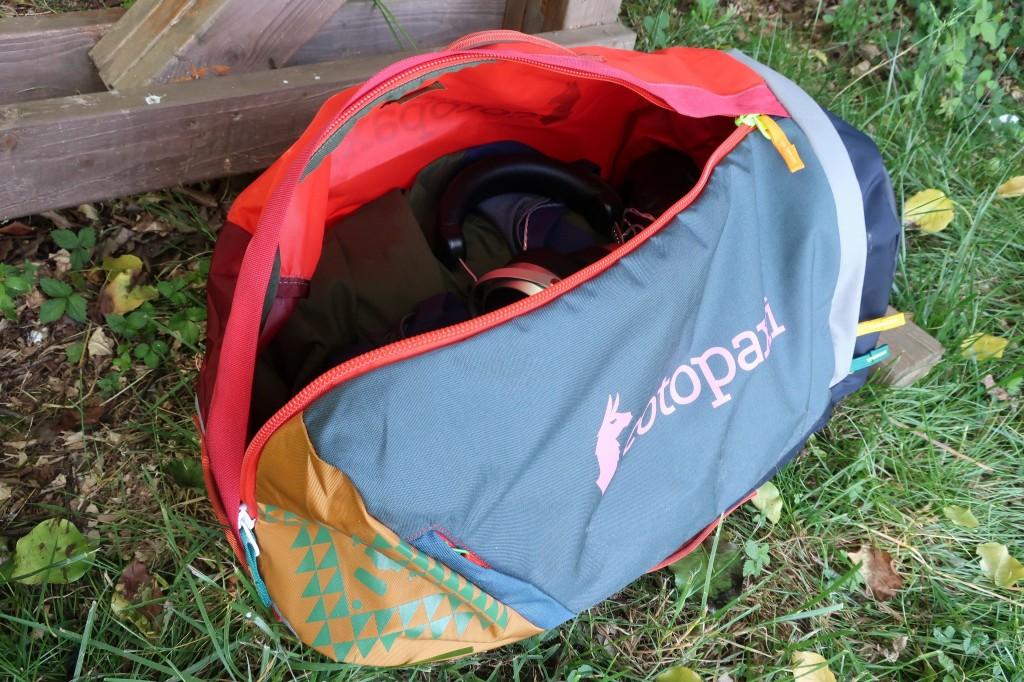 Cotopaxi Uyuni Duffel inside