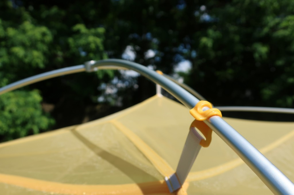 Big Agnes Tigerwall UL2 Solution Dye poles